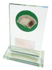 Glass Bridge Trophy award. Free Engraving