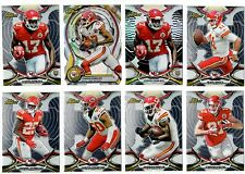 Kansas City Chiefs 8-card lot RC Refractor Die-Cut Conley Smith Charles Non-Auto
