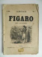 Almanach Figaro 3e Year 1858