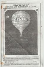 1868 Unexcelled Unxld Fireworks Catalog Reprint