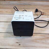 VTG Sony Dream Machine Alarm Clock Radio Cube ICF-C10W AM/FM White