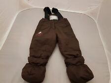 CANADA Xtrem-Gusti LUXURY Baby Girls  SKI Snow Trousers 12M muffs with braces
