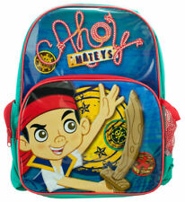 Jake and the Never Land Pirates Backpack Kids Boys Disney School Book Bag Toy
