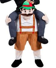 Ride on Barvarian Beer Man  mascot costume Carry Me Fancy dress pants