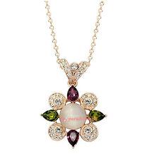 Collana da Donna Cristallo Swarovski elements Ciondolo Multicolore S31