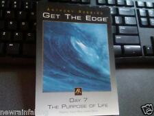 Anthony Robbins Get the Edge - The Purpose of Life, Day 7 (CD, 2000) WW Shipping