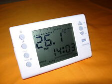 LARGE SCREEN DIGITAL PROGRAMMABLE ROOM THERMOSTAT (TH-2006)