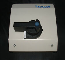 Hager JG83S 32 amp Three Phase TP+N Switch Disconnector.