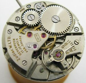 Eta 1080 17 jewels manual Zodiac 10 s Watch Movement for part or project