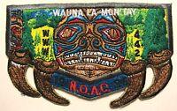 WAUNA LA-MON'TAY OA LODGE 442 BSA CASCADE PACIFIC 259 NOAC 1996 BEAR CLAW FLAP