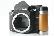 【NEAR MINT】 Pentax 67 TTL Mirror Up Late Model w/ grip From Japan #546