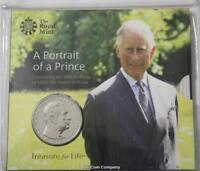 2018 Prince Charles 70th Birthday £5 Bu Royal Mint Coin Pack
