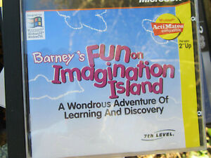Barney's Fun On Imagination Island For Ages 2-Up CD