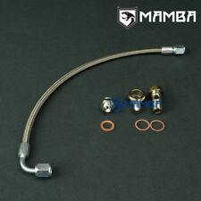 MAMBA Turbo Oil Feed Line Kit For SAAB 900 900E B204 w/ Garrett T25 Turbo