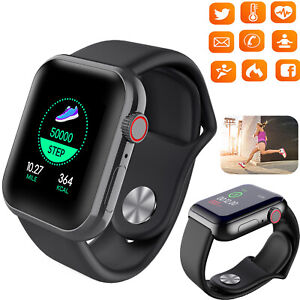 Smart Watch Bluetooth Heart Rate Monitor Fitness Tracker For Samsung Huawei ASUS