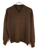 MARLBORO CLASSICS Men Jumper Lambswool Sweater Cardigan Pullover Size S GZ241