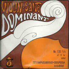Corde à l'unité Violon DOMINANT VIOLIN SALTE -  131 3/4 - La