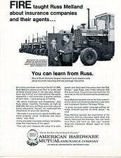1970 Print Ad American Hardware Mutual w International Harvester IH 1256 Tractor