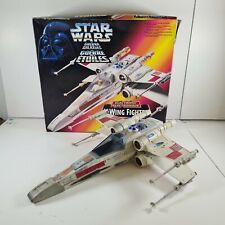More details for star wars electronic x-wing fighter with box kenner 1995
