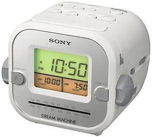 SONY Dream Machine ICF-C180 White Cube - Excellent Condition - Works!