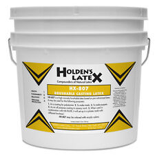 HX-807 BRUSHABLE LIQUID MASK MAKING AND CASTING LATEX RUBBER 1 GALLON SIZE