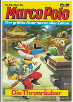 Marco Polo Nr.50 von 1977 - TOP Z1 BASTEI ABENTEUER COMICHEFT