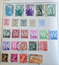 Belgium, some old and early Stamps, all used
