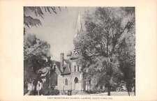 Laurens South Carolina First Presbyterian Church antique pc Z12165