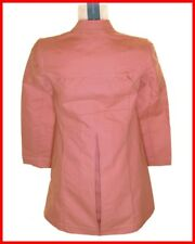 Bnwt Women's French Connection Double Breast Buttoned Coat UK6 RRP£120 Fcuk Pink