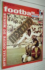 FOOTBALL MAGAZINE #124 COUPE MONDE MEXICO 70 1970 BRESIL ITALIE ALLEMAGNE PELE