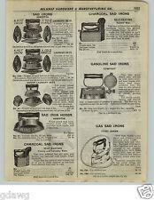 1922 PAPER AD Comfort Fairy Queen Gas Gasoline Charcoal Sad Iron Dover Asbestos