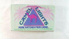 CAMEL LIGHTS Matches