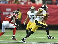 WILLIAM GAY PITTSBURGH STEELERS RECORD TD RETURN 12/14/14 COLOR 8X10 VS FALCONS