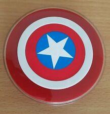 Genuine Original Samsung Marvel Captain America Wireless Charger Base EP-PG9201