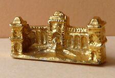 Fève en métal doré des années 90 - Monuments de Marseille : Le Palais Longchamp