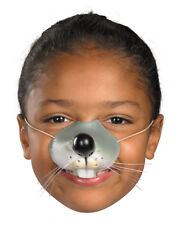Mouse Nose with Elastic Cord Vinyl Adult or Child Costume Accessory