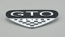 2004 Pontiac GTO 5.7L Fender Emblem Badge Reproduction CHROME 04-06 5.7 Litre