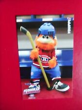 2013-Montreal Canadiens-Playoffs-Youppi Postcard.