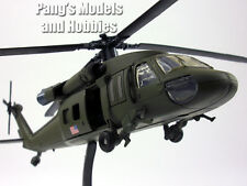 Sikorsky UH-60 Black Hawk 1/60 Scale Diecast Helicopter Model and Accessories