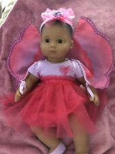 American Girl Bitty Baby Doll Beautiful Butterfly 4pc Set