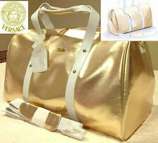 AUTHENTIC Exclusive VERSACE GOLD COUTURE Overnight~Weekend~Luggage~Travel BAG