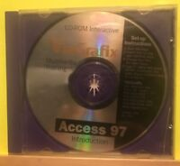 Pre-owned ~ ViaGrafix Multimedia Training Access 97 Software Disc CD-ROM, 1998