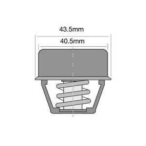 THERMOSTAT FOR RENAULT 17 1.6 (1972-1980)
