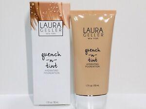 Laura Geller Quench n Tint Hydrating Foundation Light Full Sz 50ml New In Box