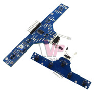5 Channel Detector Tracking IR Infrared Line Sensor Module for Arduino Smart car