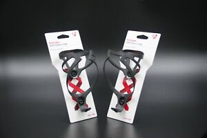 NEW ARRIVAL BONTRAGER XXX CARBON BOTTLE CAGE SUPERLIGHT PAIR + BOLTS