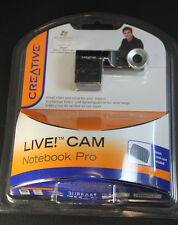 Creative Live Cam Notebook Pro Webcam Web Cam