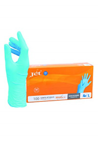 Multi-Purpose Vinyl Gloves, Powder Free, Disposable, Extra Strong - Box of 100 -