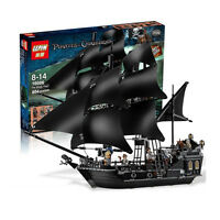 Pirates Of The Caribbean The Black Pearl Ship Blocks Bricks Toys Christmas gift