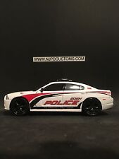Eden Police NC 1:24 Scale Dodge Charger Police Car